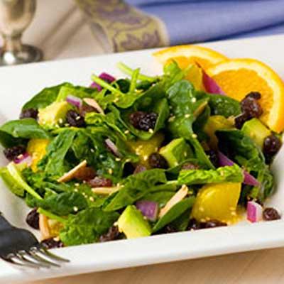 Sunshine Spinach Salad