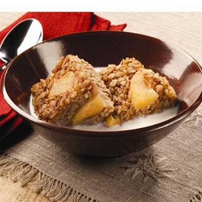 Sweet Apple-Cinnamon Baked Oatmeal