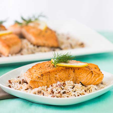 Sweetheart Salmon Filets