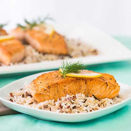 Sweetheart Salmon Filets