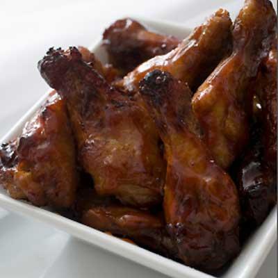 Teri-Apple Chicken Wings