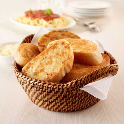 Toasted Garlic Parmesan Bread