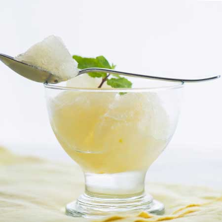 White Grape Juice Sorbet