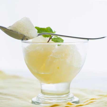 White Grape Juice Sorbet