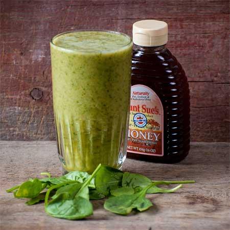 Honey Mango Spinach Smoothie