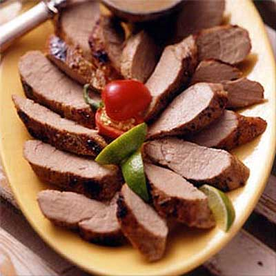 Honey Lime Marinated Pork Tenderloin