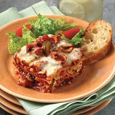 Chicken & Vegetable Lasagna