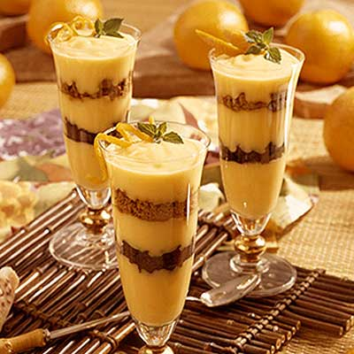 Easy Orange Parfaits