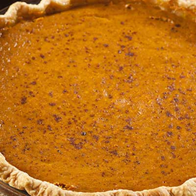 Orange Butternut Squash Pie