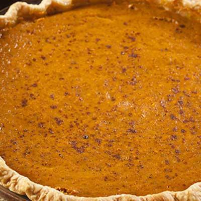 Orange Butternut Squash Pie