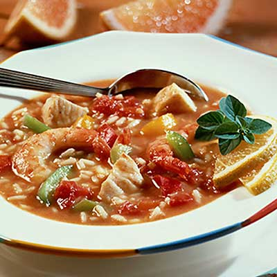 Moroccan-Style Bouillabaisse