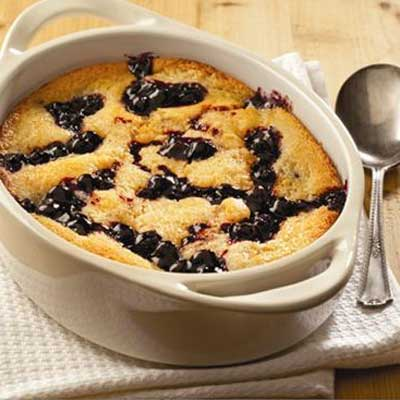 Simple and Sweet Blueberry Cobbler