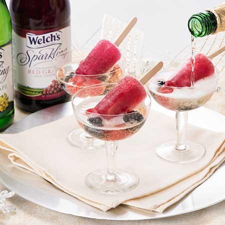 Sparkling Ice Pop Cocktails