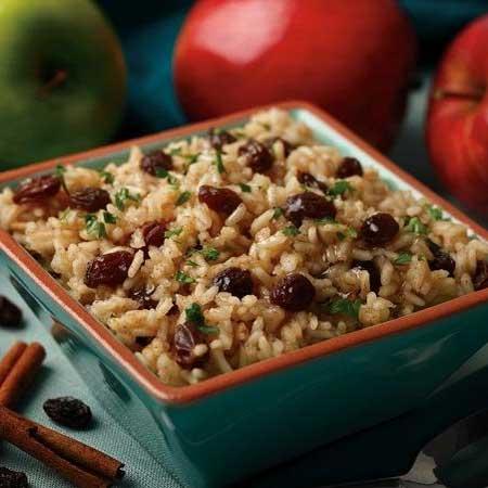 Cinnamon Apple Rice