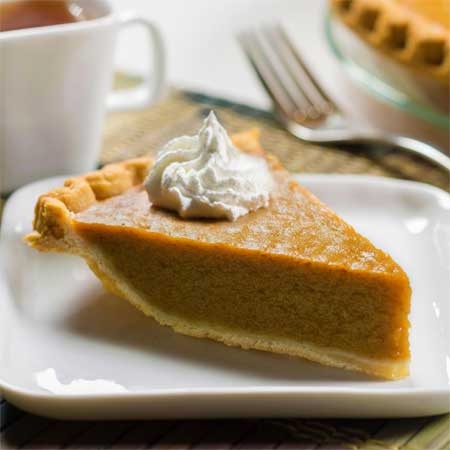 Apple Butter Custard Pie