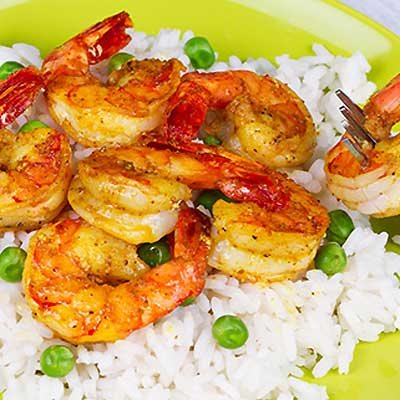 Punjabi Spiced Shrimp