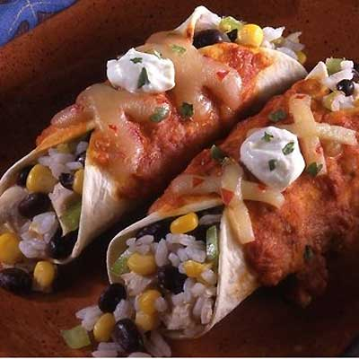 Spiced Enchiladas