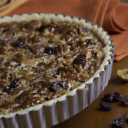 Raisin Pecan Tart