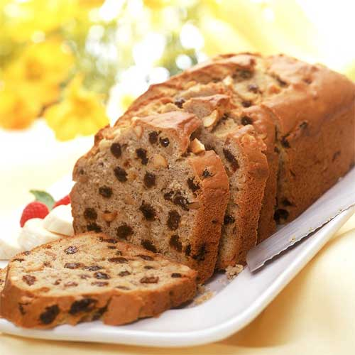 Banana Raisin Loaf