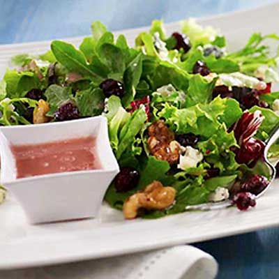 Blue Cheese and Baby Greens with Blueberry Craisins