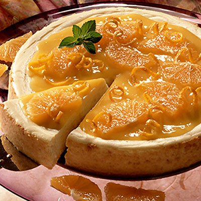 Orange-Topped Cheesecake