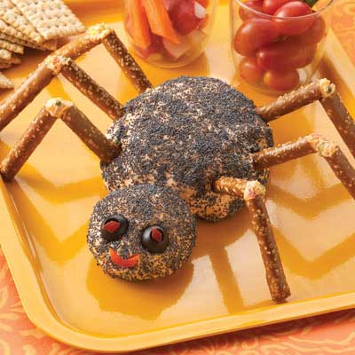 Spider Cheese Ball