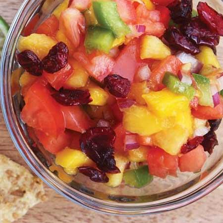 Peach Mango Salsa