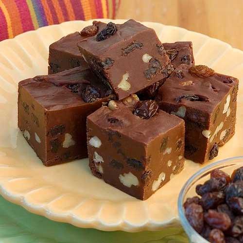 Raisin Chocolate Fudge