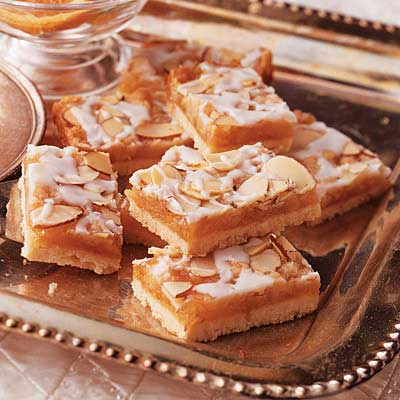 Fruit and Almond Bars