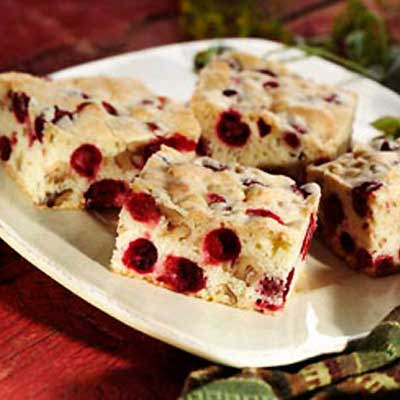 Cranberry Nut Bars