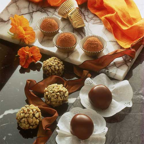 Decadent Raisin Chocolate Truffles
