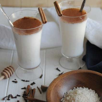 Holiday Spiced Horchata