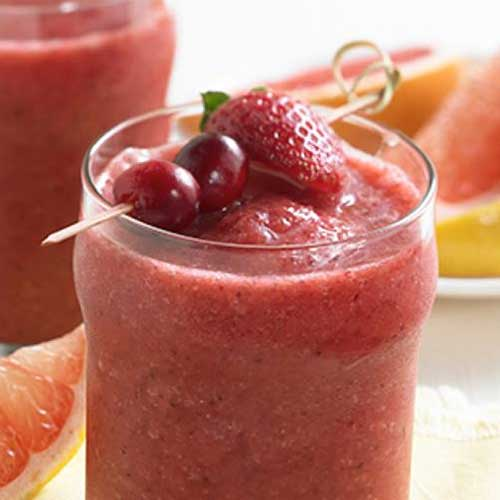 Super Ruby-Cranberry Smoothie