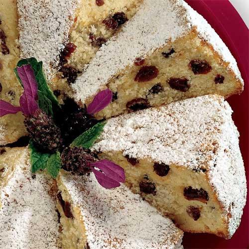Cream Cheese Raisin Pound Cake