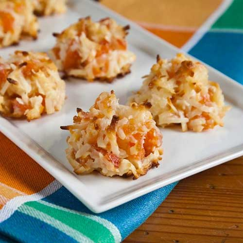 Quick Apricot Macaroons