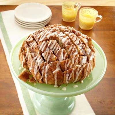 Cinnamon Pull-Apart Party Loaf