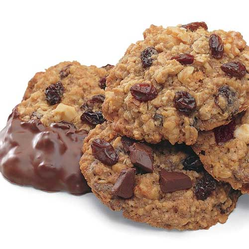 Chocolate Chunk Raisin Oatmeal Cookies