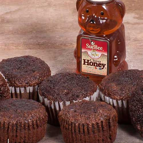 Honey Chocolate Cupcakes