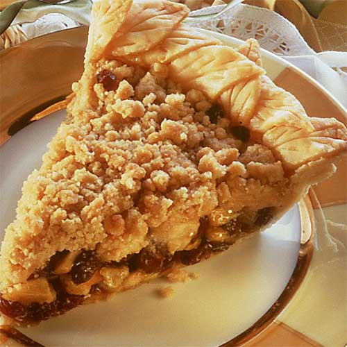 French Raisin Apple Pie