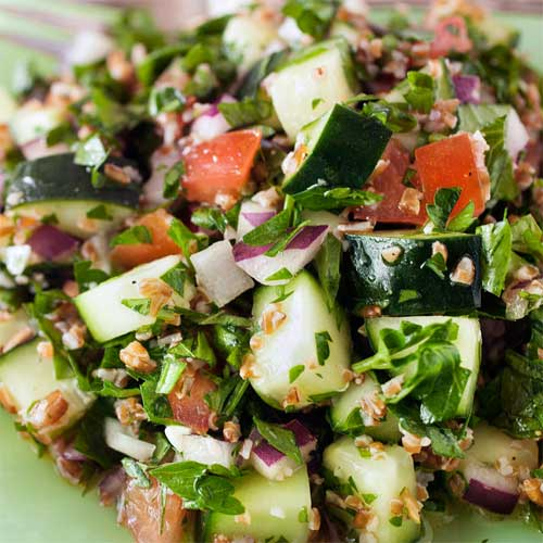 Parsley Tabbouleh Salad