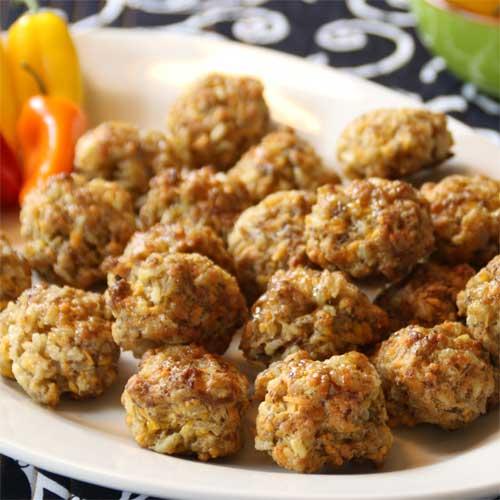 Sausage Rice Balls