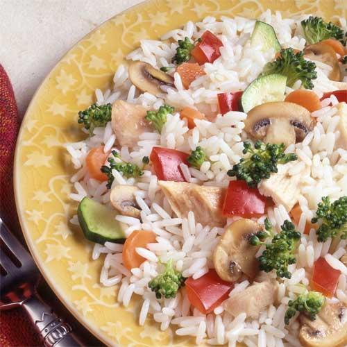 Primavera Chicken and Rice