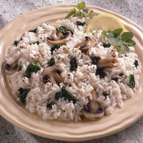 Spinach Feta Rice