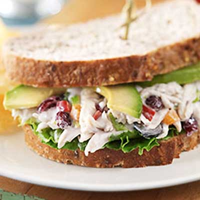California Chicken Salad with Craisins