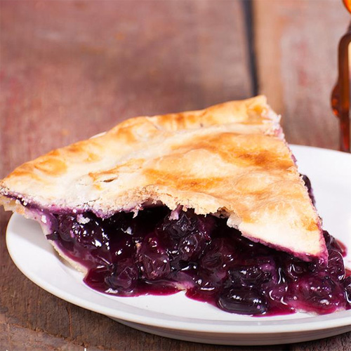 Honey Blueberry Pie