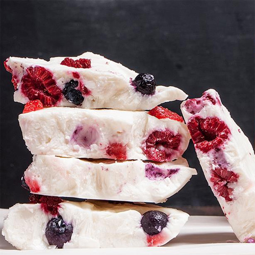 Mixed Berry Yogurt Bark