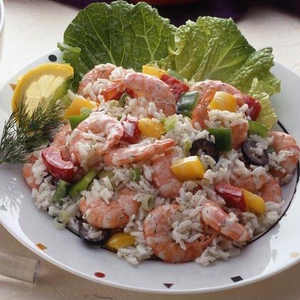 Dill Shrimp Salad