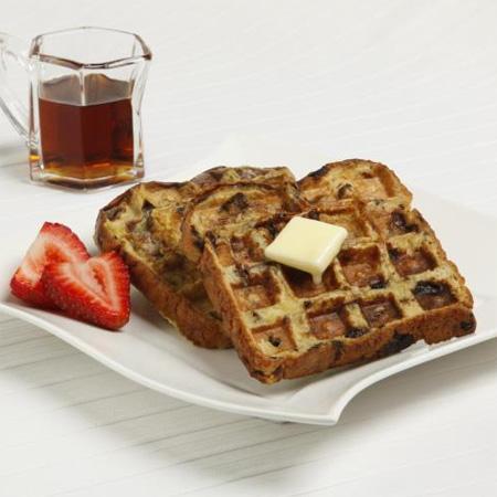 Raisin Waffle Toast