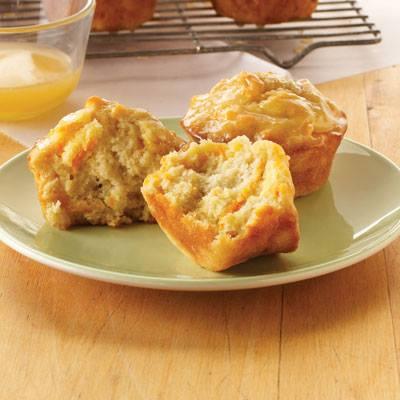 Honey Carrot Muffins