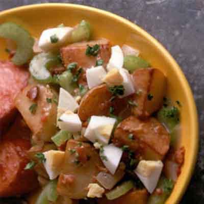 Easy Hot German Potato Salad